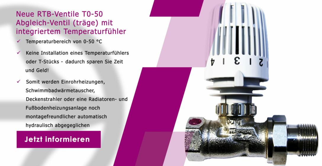 RTB Abgleich-Ventil träge